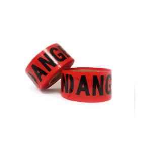 """866 Red Danger Tape 3"""" x 1000'"""