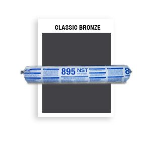 895 NST - SSG-046-Classic Bronze SSG Structural Silicone Glazing & Weatherproofing Sealant-20 oz sausage